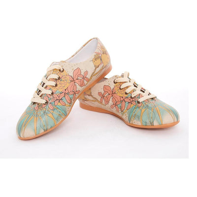 Flowers Ballerinas Shoes SLV062