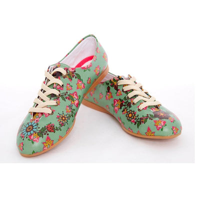 Flowers Ballerinas Shoes SLV071