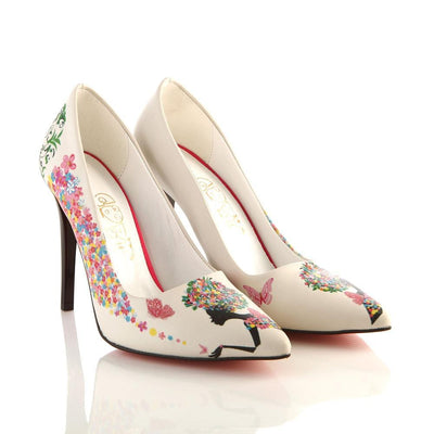 Beatiful Woman Heel Shoes STL4003