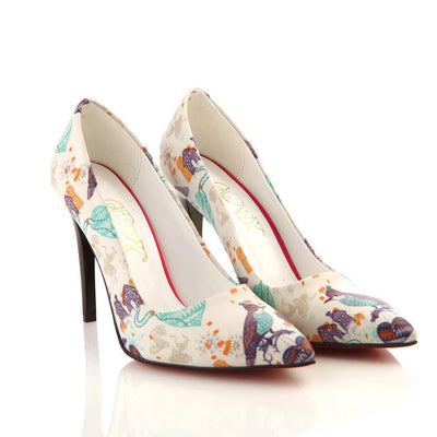 Birds Heel Shoes STL4011