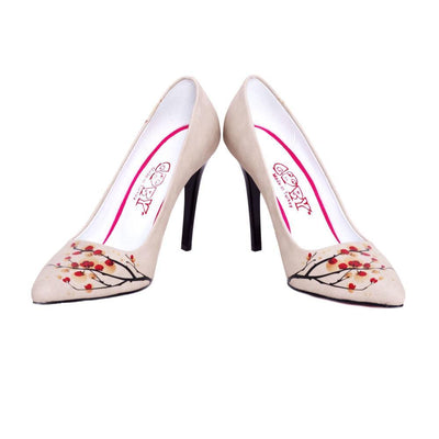 Cherry Blossom Heel Shoes STL4021