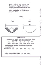 Load image into Gallery viewer, Y-Front Mens Underwear Sewing Pattern PDF