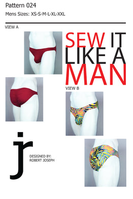 Mens Posing Suit / Bikini Sewing Pattern PDF Download (.zip file)