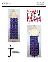 Load image into Gallery viewer, Women's Camisole Dress Basic Relaxed/Loose Fit Sewing Pattern MAIL
