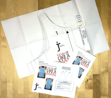 Load image into Gallery viewer, Mens Tank Top Sewing Pattern MAIL