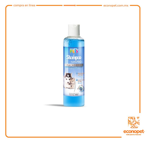 SHAMPOO ESSENTIALS CACHORROS 250 ML