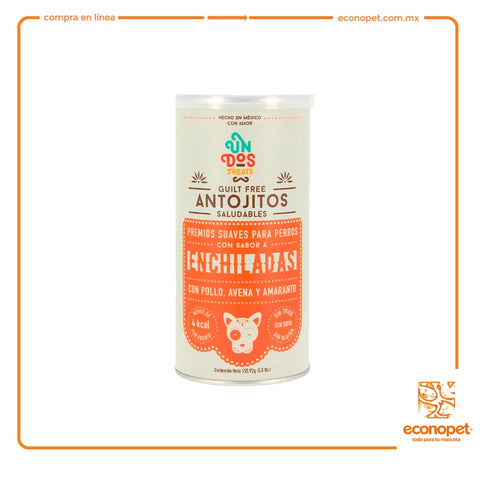 Un Dos Treats - Guilt Free Antojitos Saludables - Enchilada 5.5 Oz