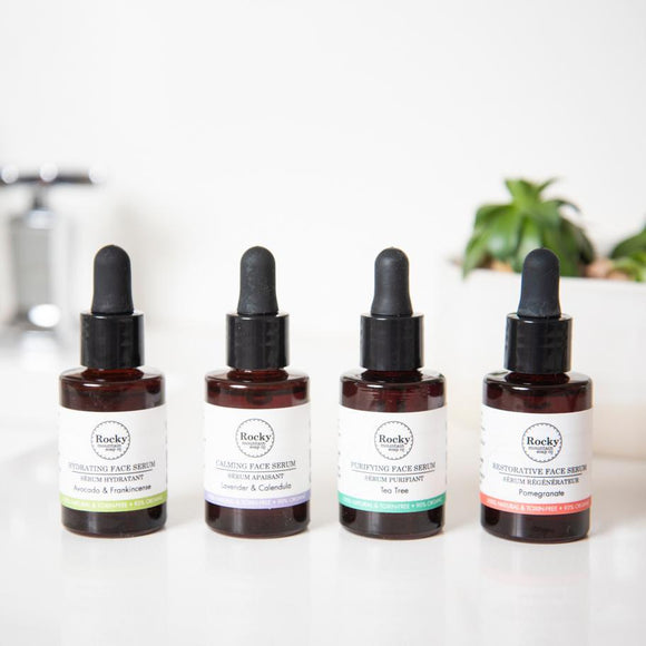 Face Serums by Rocky Mountain Soap Co.