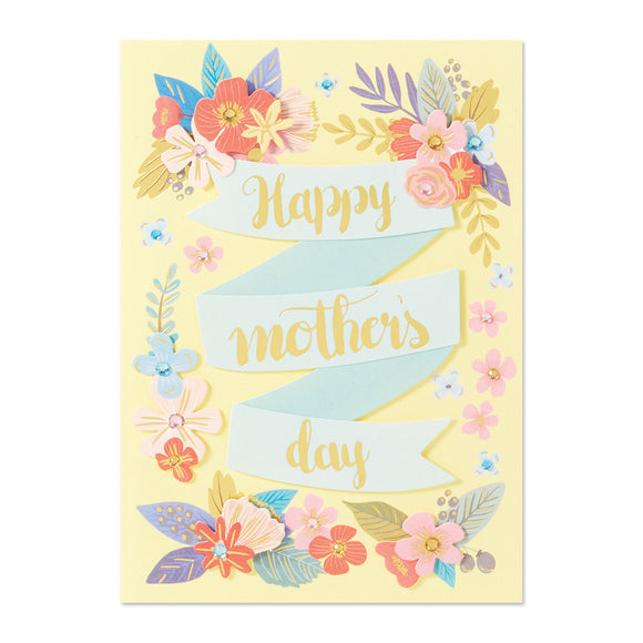 Happy Mother's Day Banner Card