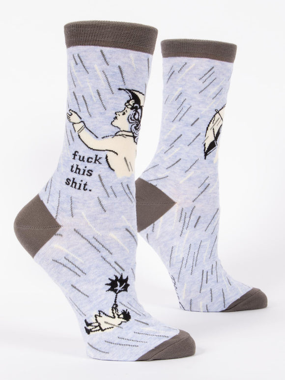 Fuck This Shit Women's Crew Socks