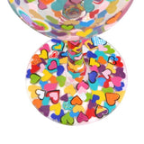 Hearts-A-Million Painted Wine Glass