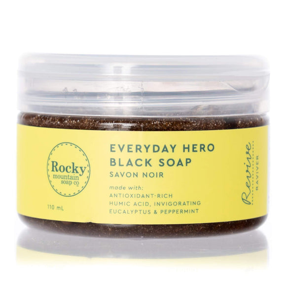Everyday Hero Natural Black Soap
