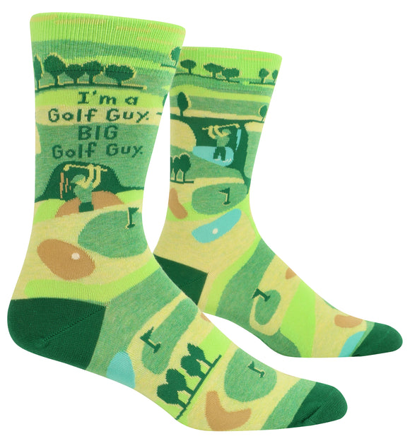 Blue Q I'm A Golf Guy Men's Crew Socks