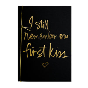 I Still Remember Our First Kiss Card