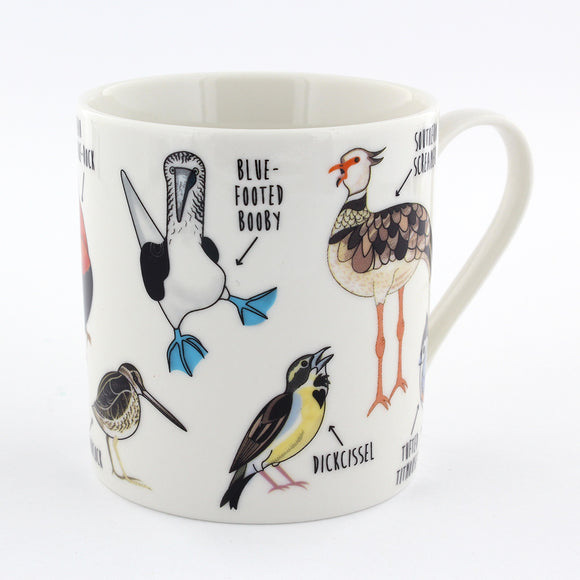 Fowl Language Bird Mug