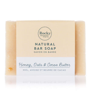 Honey Oats & Cocoa Butter Soap
