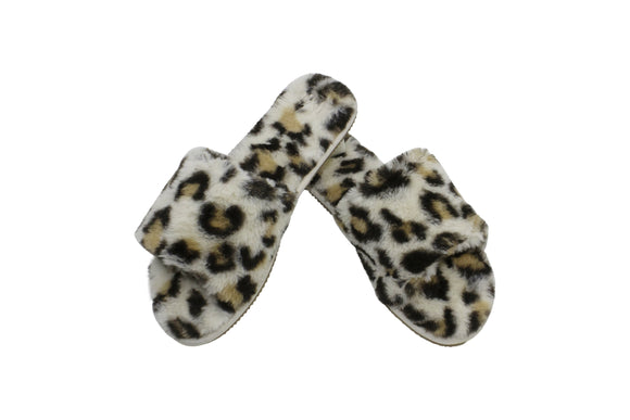 Slumber Slippers Jungle Leopard