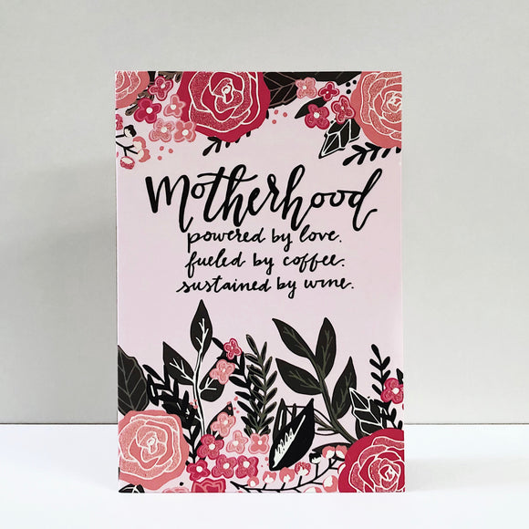 Motherhood Mother's Day Card