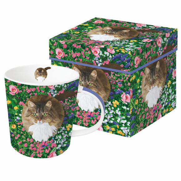 Paperproducts Design Garden Cat Boxed Mug