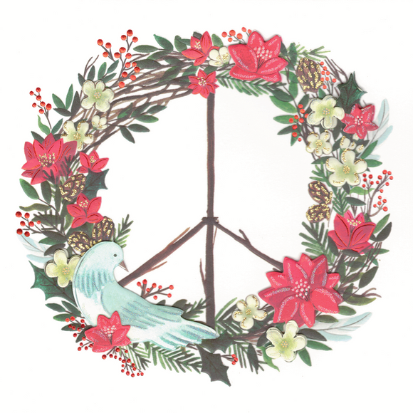 Joy & Peace Christmas Card