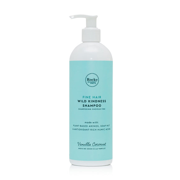 Fine Hair Natural Shampoo - Vanilla Coconut