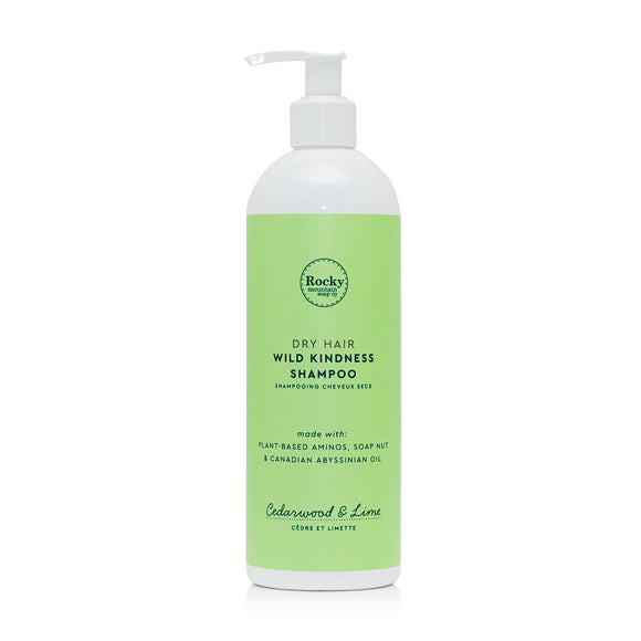 Dry Hair Natural Shampoo - Cedarwood & Lime