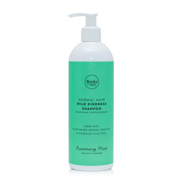Normal Hair Natural Shampoo - Rosemary Mint