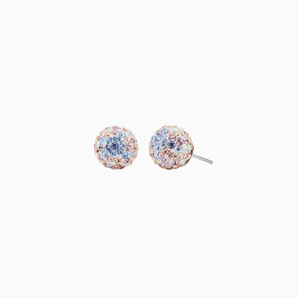 Ethereal Sparkle Ball Stud Earrings