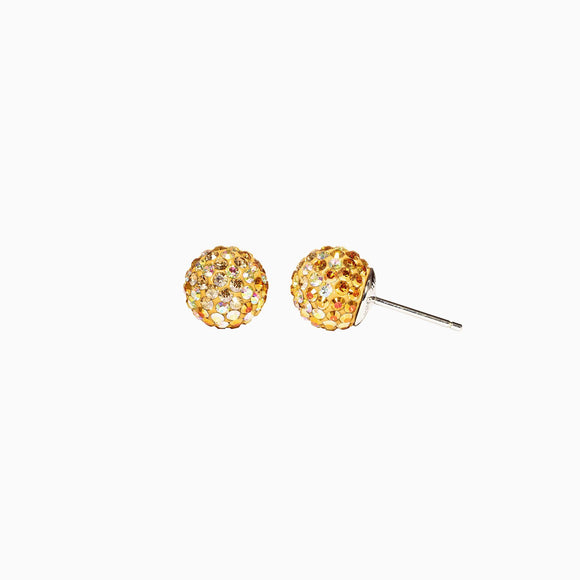 Twinkle Sparkle Ball Stud Earrings