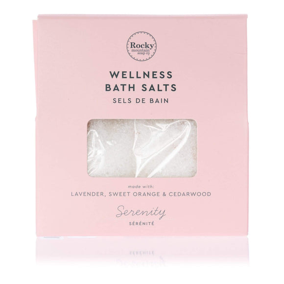 Serenity Bath Salts Envelope