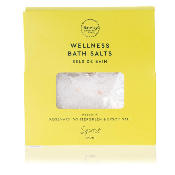 Sport Bath Salts Envelope