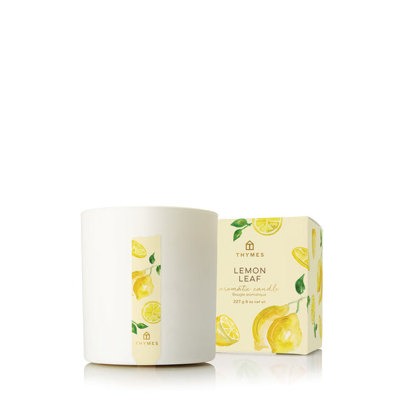 Thymes Lemon Leaf Aromatic Candle