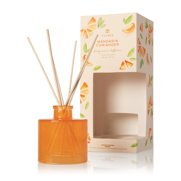Thymes Mandarin Coriander Fragrance Reed Diffuser