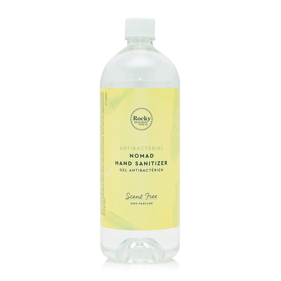 Scent Free Nomad Hand Sanitizer 1L Refill