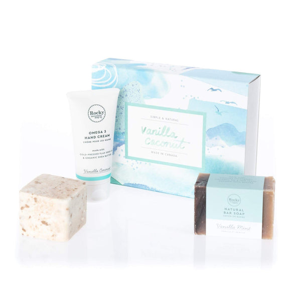 Vanilla Coconut Love Gift Set
