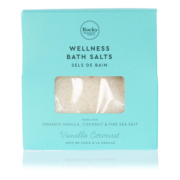 Vanilla Coconut Bath Salts Envelope