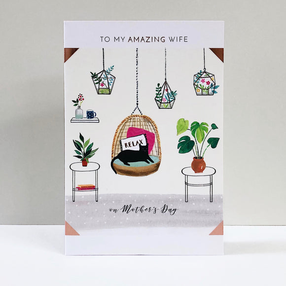 Amazing Wife Mother's Day Card