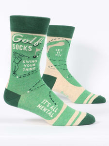 Golf Men's Crew Socks