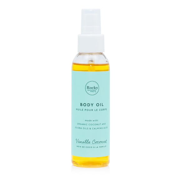 Vanilla Coconut Body Oil