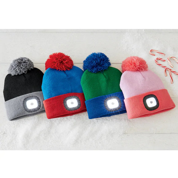 Kids USB Rechargeable LED Toque [4 colors]