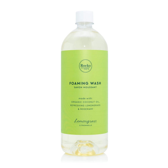 Lemongrass Foaming Wash Refill