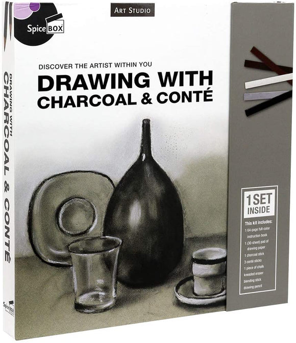 Drawing With Charcoal Set