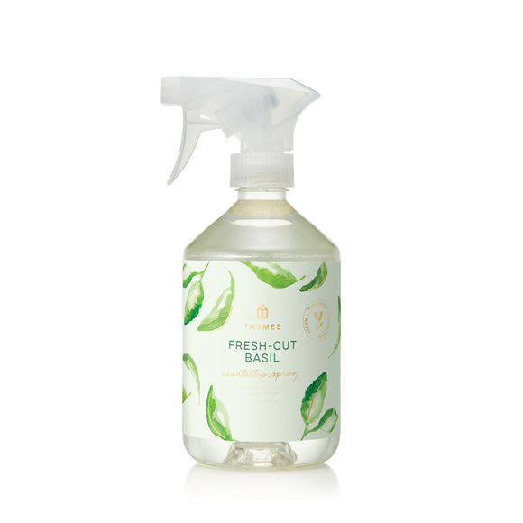 Thymes Fresh-Cut Basil Countertop Spray All-Purpose Cleaner