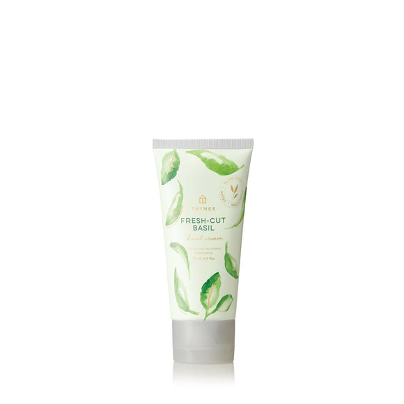 Thymes Fresh-Cut Basil Hard-Working Hand Cream