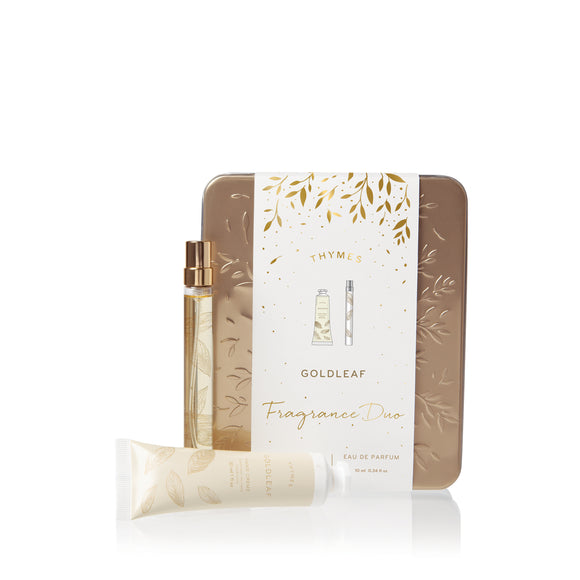 Thymes Goldleaf Fragrance Duo Value Gift Set