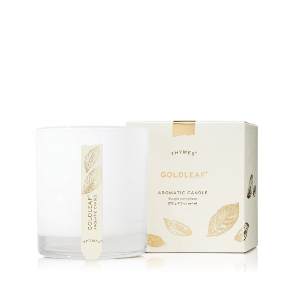 Thymes Goldleaf Aromatic Candle