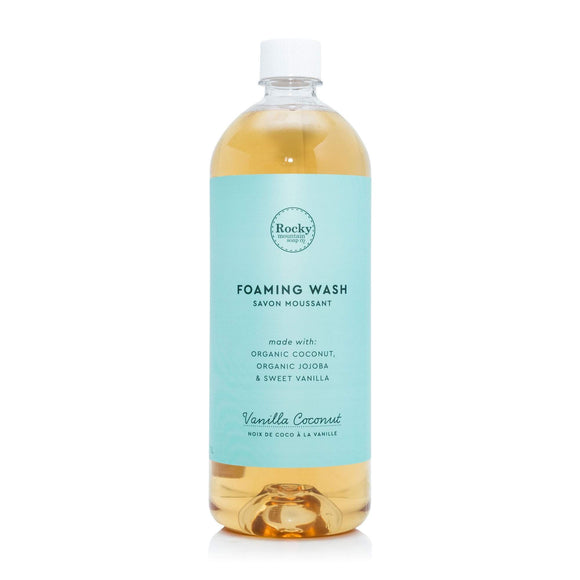 Vanilla Coconut Foaming Wash Refill