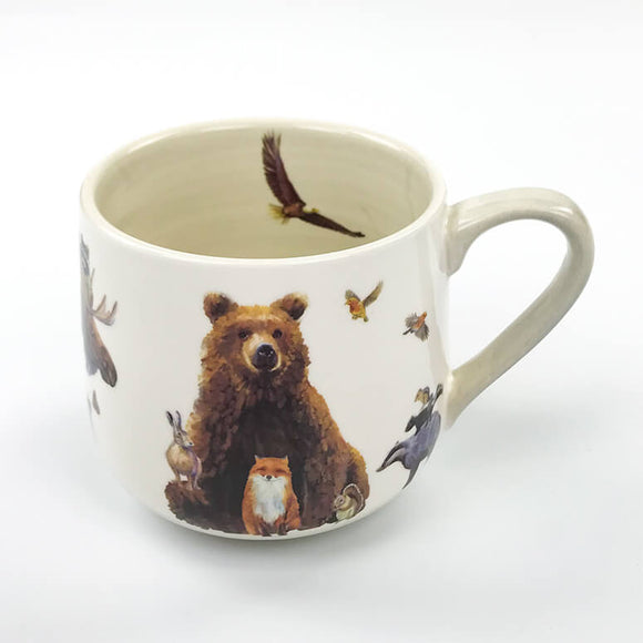 Woodland Bunch Mug