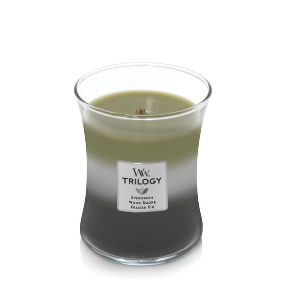 Mountain Trail WoodWick® Trilogy Candle
