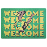 Roadrunners Retro Mascot Doormat